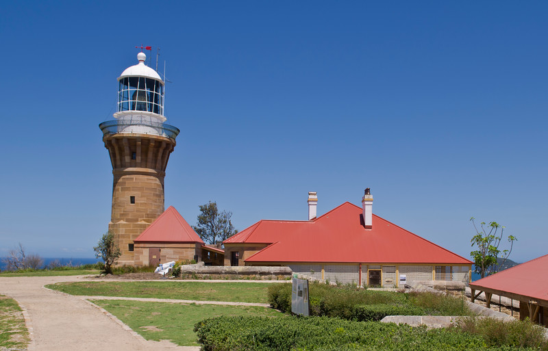 The recently restored Barenjoey lighthouse