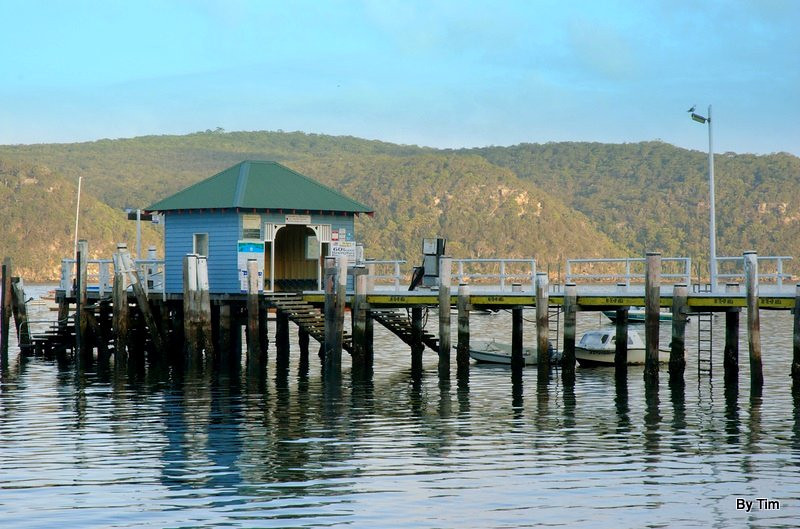 Ferry wharf. Pittwater