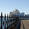 early morning light on Opera house taken from under the bridge