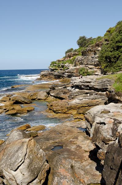 heading to tamarama on the coastal walk