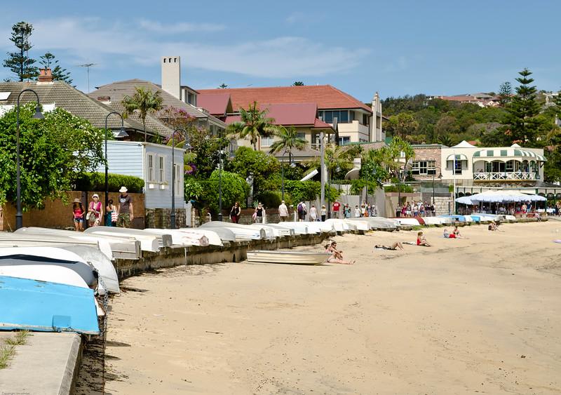 Local residents tenders. Promenade. Watsons Bay