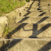 Sandstone steps, Mrs Macquaries Point.