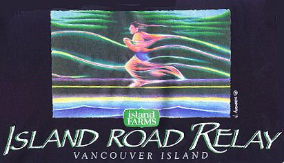 T-shirt Designs - Island Relay 1998
