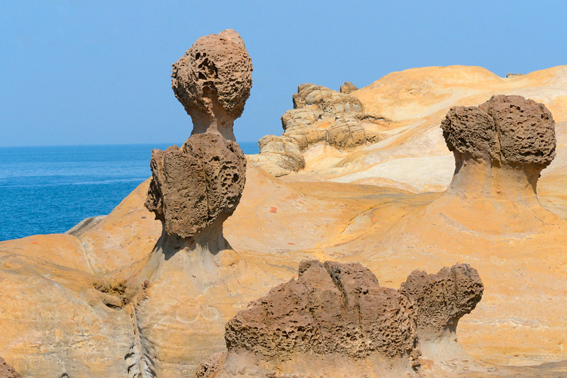 the nature sculptures of Yeliu