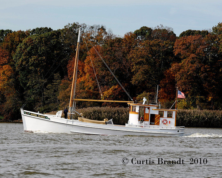 """Muriel Eileen  Sultana Downrigging  Chestertown  MD  October 30th, 2010<br /> <br />  <a href=""""http://www.sultanaprojects.org/thefleet.htm"""">http://www.sultanaprojects.org/thefleet.htm</a>"""