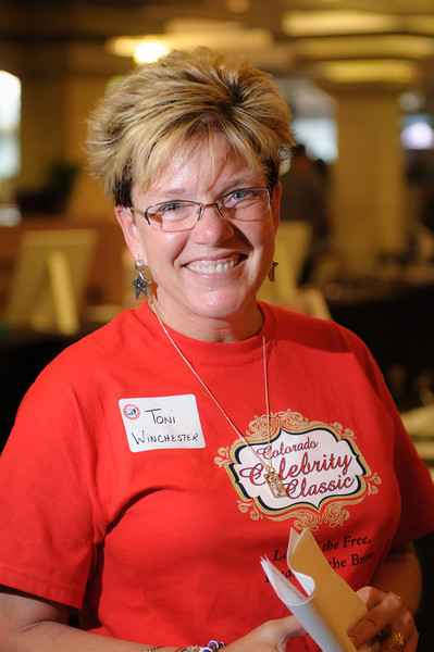 TAPS Volunteer and insurance executive, Toni Winchester.