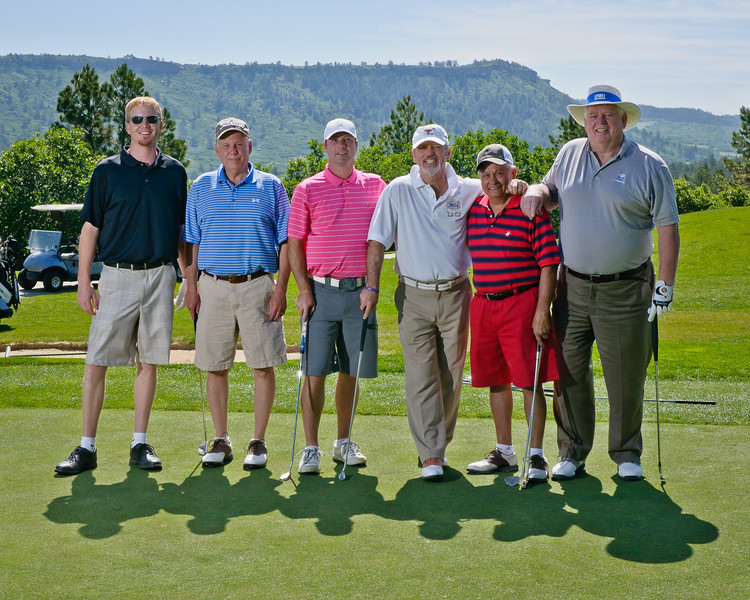 larry Gatlin and Golf Team
