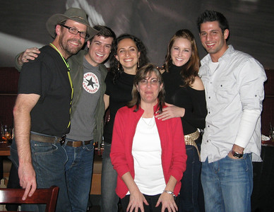 Mark, Nick, Sarah, Toni, Starr, and Dallas