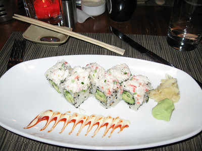 Sushi from Blue Fin