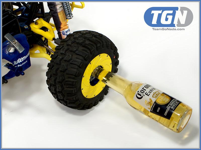 TGN Corona Crusher 5T. Custom bottle opener beadlocks by BajaSkunkWorks.