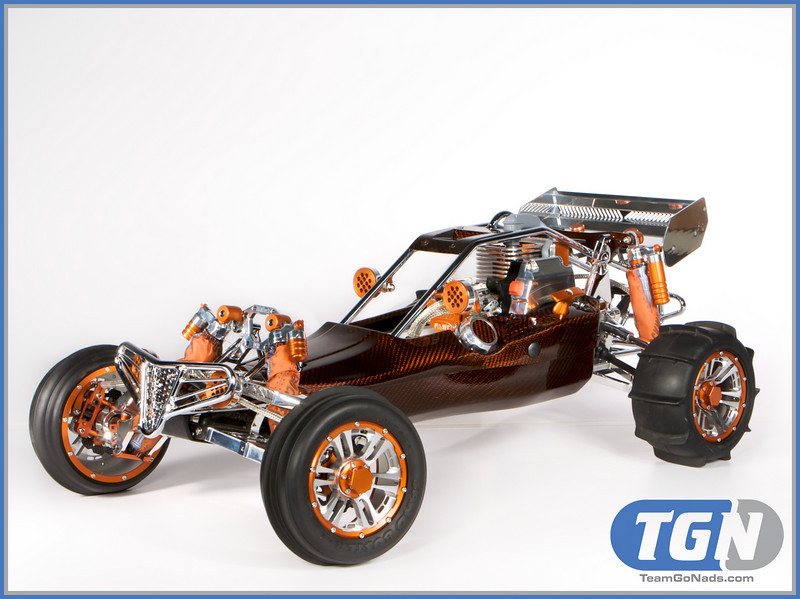 The TGN Orange Dream Machine.  Custom one off body by Rhino Racing.