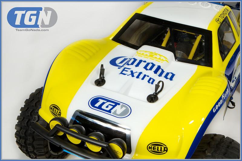TGN Corona Crusher 5T. Custom detailed paint by Craftwerks-RC.