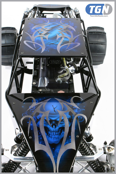 Blue Heaven 5b rail. Cage is a modified RC4WD Desert Storm Cage.