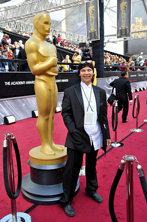 LOS ANGELES CA:  The 84th Oscars Red Carpet was held at the Hollywood Highland Complex. The Pressroom was held in the Renaissance Hotel immediately following the red carpet February 26, 2012  (Photo by Valerie Goodloe)