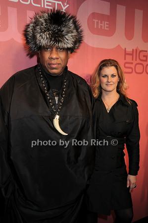 Andre Leon Talley, Joanna Konjevod<br /> all photos by Rob Rich © 2010 robwayne1@aol.com 516-676-3939