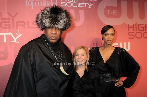 Andre Leon Talley, Dawn Ostroff, Tyra Banks<br /> all photos by Rob Rich © 2010 robwayne1@aol.com 516-676-3939