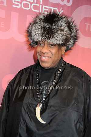 Andre Leon Talley<br /> all photos by Rob Rich © 2010 robwayne1@aol.com 516-676-3939