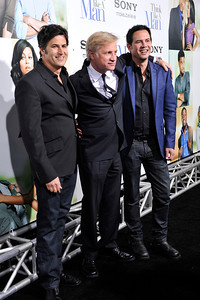 HOLLYWOOD Keith Merryman Kirk Culpepper, and David Newman arrives at The Pan Africa Film & Arts Festival Opening Night Premiere of Screen Gems THINK LIKE A MAN Thursday Night February 90th at the Arclight Cinerama Dome.(Photo by Valerie Goodloe)