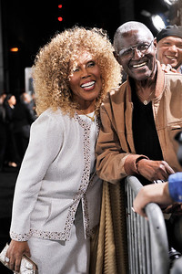 HOLLYWOOD Janet' Dubois & Bill Jones arrives at The Pan Africa Film & Arts Festival Opening Night Premiere of Screen Gems THINK LIKE A MAN Thursday Night February 90th at the Arclight Cinerama Dome.(Photo by Valerie Goodloe)