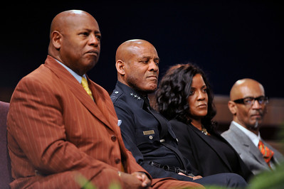 The Ray Charles Foundation Supports LAPD Youth Programs Valerie Ervin President Pledges $! Million Dollars Over three years with a grant to the Los Angeles Police Cadet Program and to Assistant Chief Paysinger, Director, Office of Operations.  Valerie Goodloe