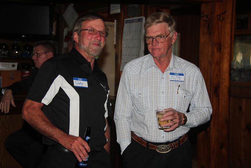 Gary Mersinger and Ron Riter