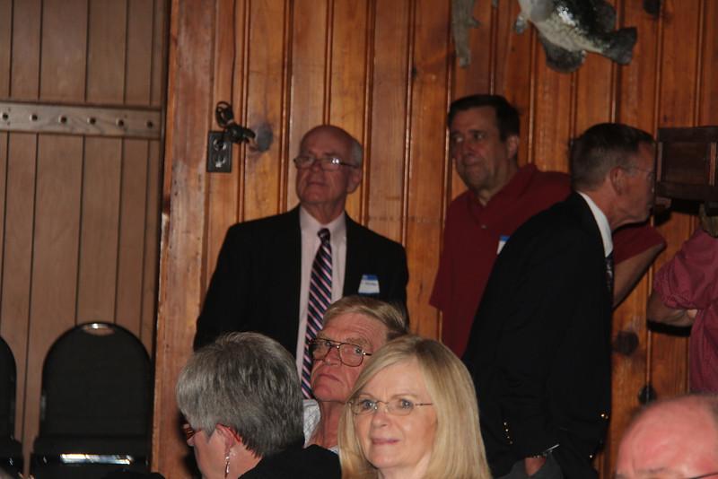 Judy Highlander Riter, Pat Smithers Brasel, Ron Riter, Larry Brendel, Jim Hagnauer, and Dennis Bardelmeier.