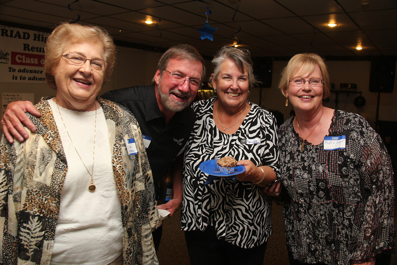Gloria Mannz, Gary Mersinger, Merry Gwin Anderson, and Phyllis Loyet Saeger