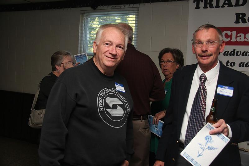 Ron Smithers and Dennis Bardelmeier