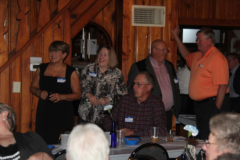 Pat Liebler Earnshaw, Marilyn Klenke Gerstenecker, Ed Gerestenecker, Kelly Moxley.