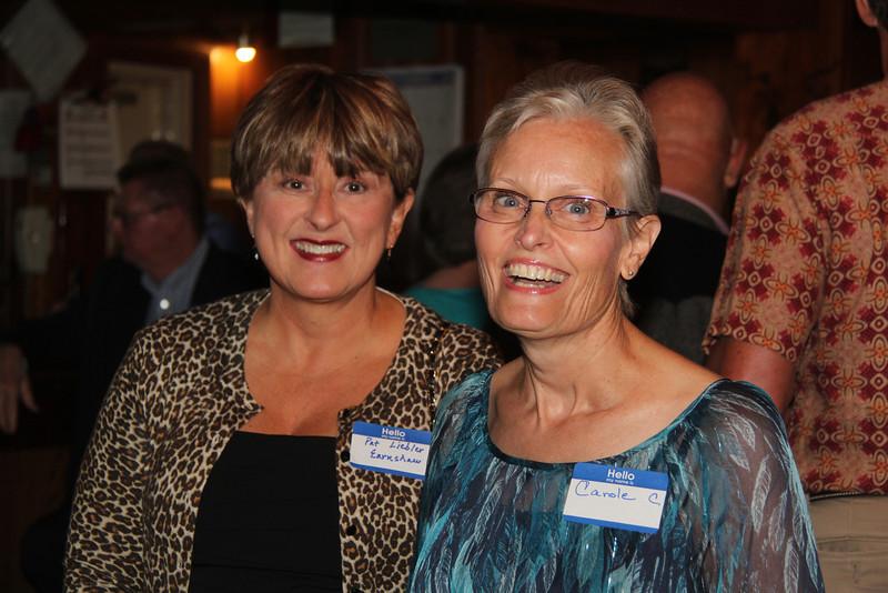 Pat Liebler Earnshaw and Carole Carson Mercurio