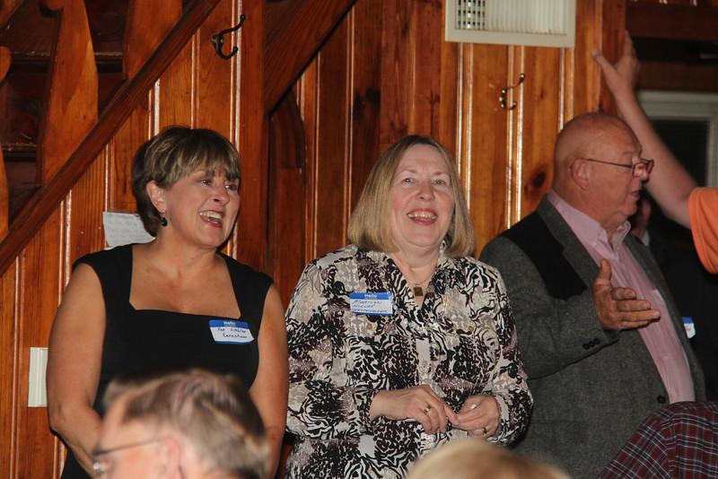 Pat Liebler Earnshaw, Marilyn Klenke Gerstenecker, and Kelly Moxldey.