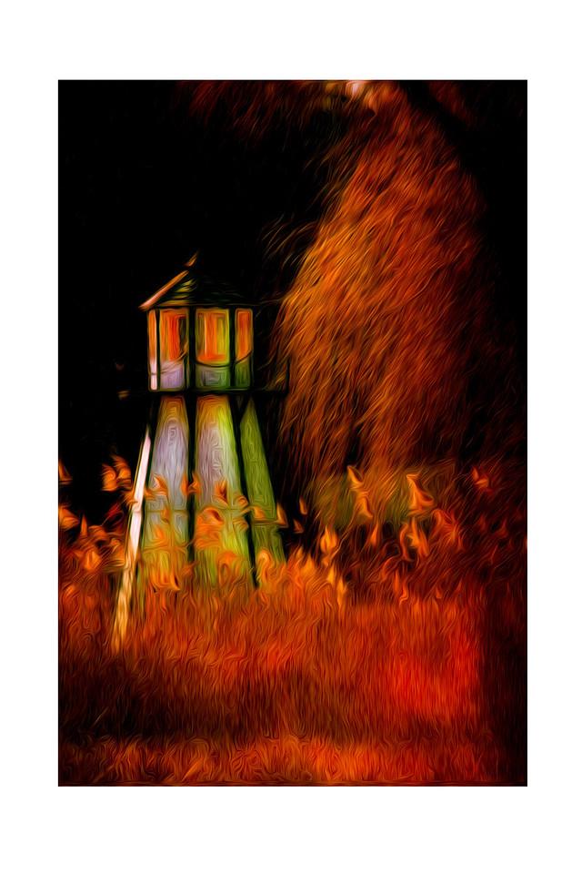 Lighthhouse on Fire