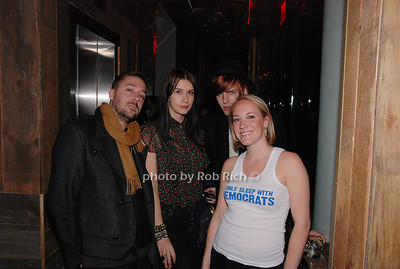 Andrew Caldwell, Alexis Page, Bunny Kinny and Stephanie Sheperis