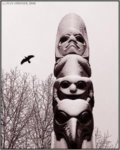 """""""KICKSETTI TOTEM"""", Wrangell, Alaska, USA."""