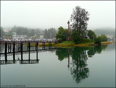 """CALM AFTERNOON"",Shakes Island,Wrangell,Alaska,USA."