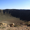 METEORITE CRATER IN ARIZONA