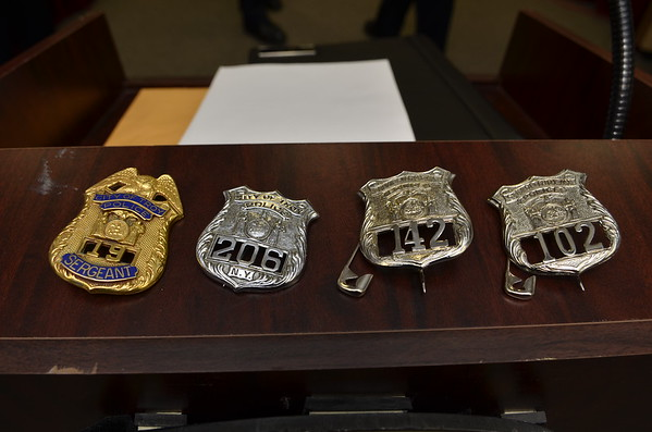 TROY POLICE PROMOTION AND NEW HIRES