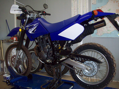 TTR250R Project