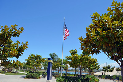 US Flag at Liberty Station