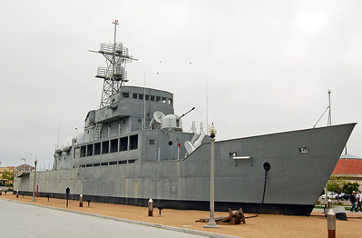 Also Known as USS Neversail, as it was built from Plywood