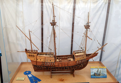 Blue Ribbon Model of San Salvador