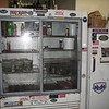 The reach-in fridge behind the register. Find the DST sticker!
