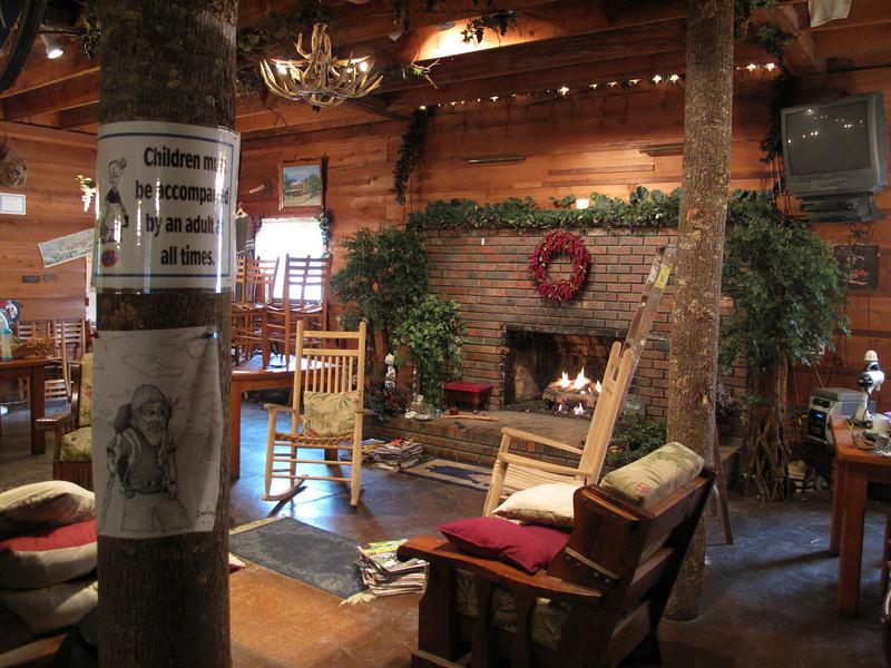 Lodge interior. So many good memories here.