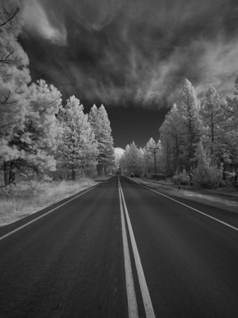 Lake Tahoe Infrared