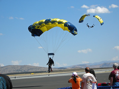 Opening ceremony at the Reno Air Races.