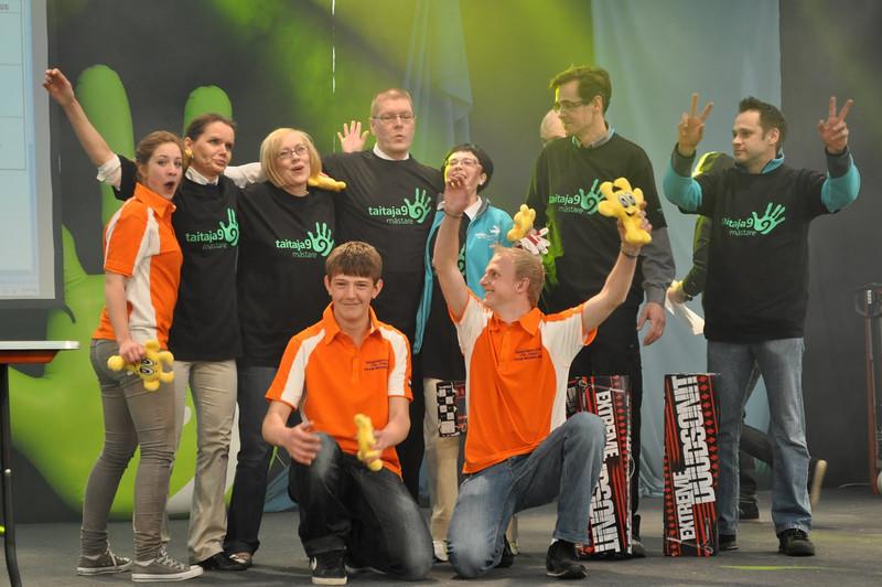 Team 1 van Nederland won de derde plek!