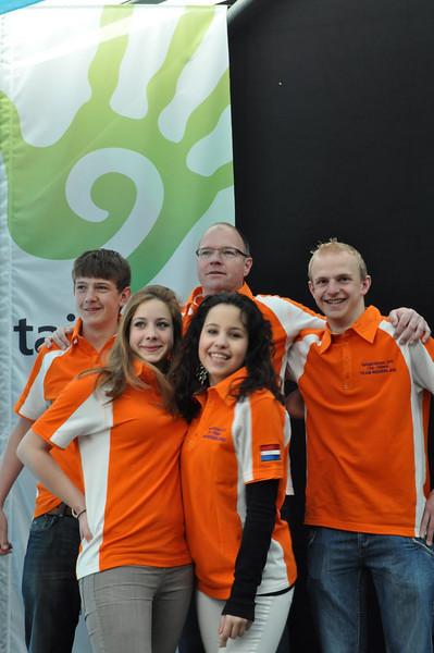 Team NL 1 van het Esdal College