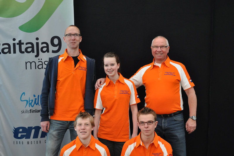 Team NL 2 van het Prisma College