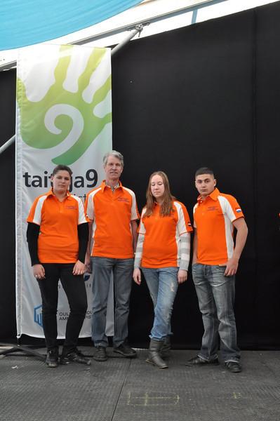 Team NL 3 van het Arentheem College