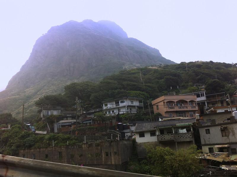 the village of Jiufen